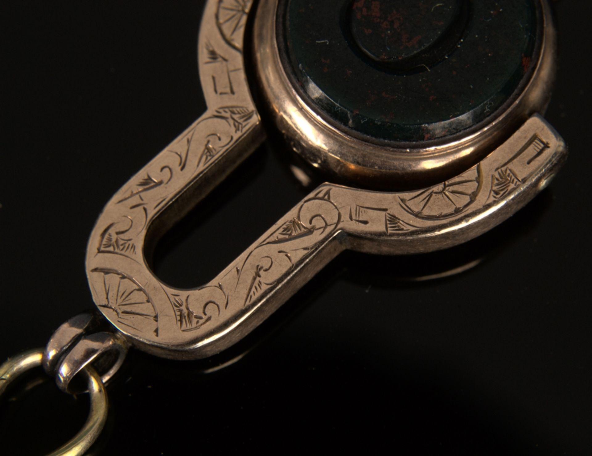 9teilige Sammlung versch. Taschenuhrenschlüssel, überwiegend 19. Jhd. Versch. Alter, Größen, - Bild 14 aus 18