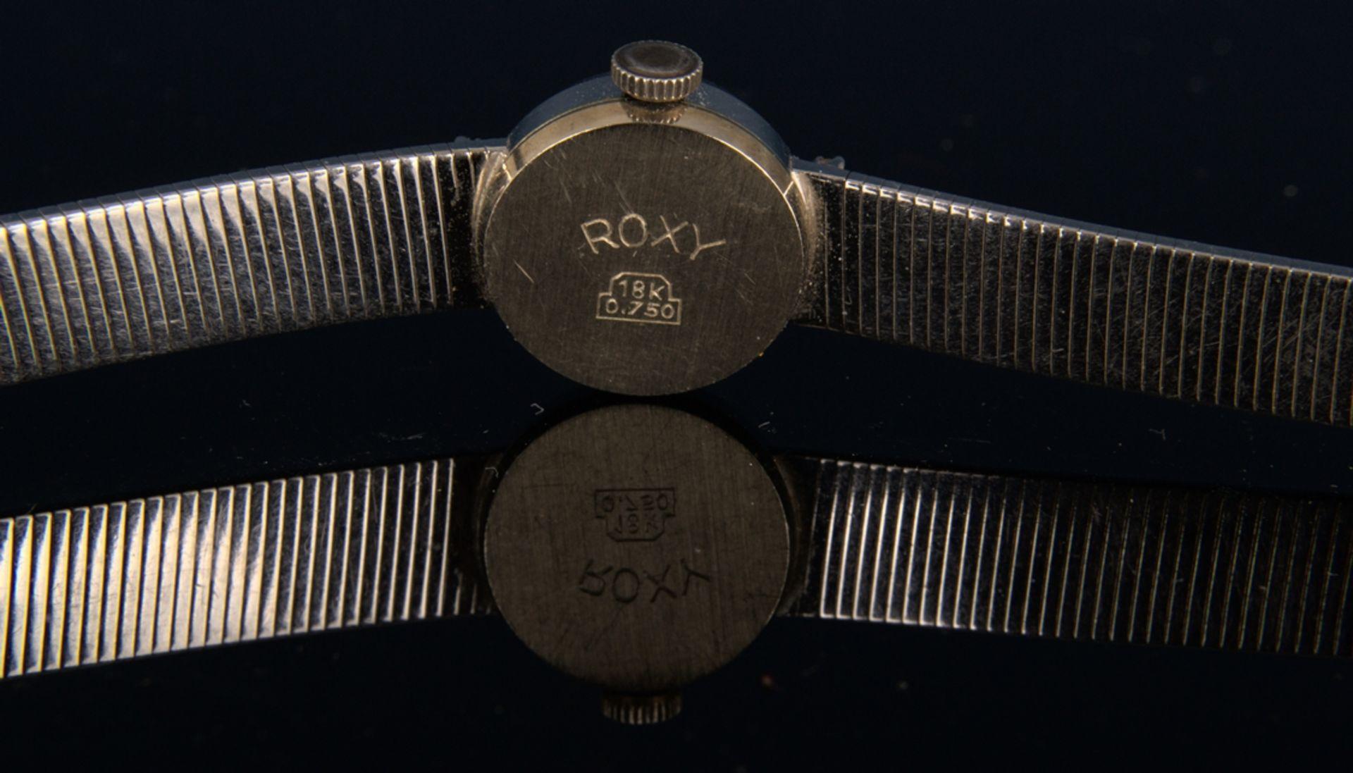 "Elegante COCKTAIL - Damenarmbanduhr der Marke ""ANKER - ROXY"" - 17 Rubis - Incabloc. Handaufzug, - Bild 7 aus 11"