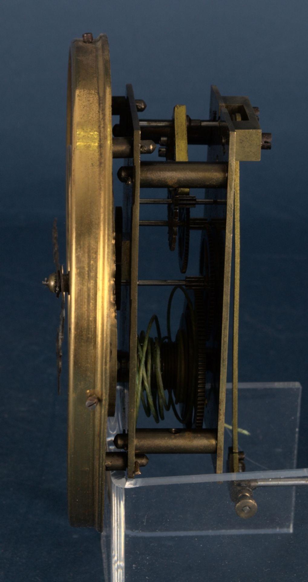 Wandregulator, eingewichtige, mechanische Wanduhr im Nussbaumgehäuse. Werk ungeprüft. Höhe ca. 95 - Bild 9 aus 19