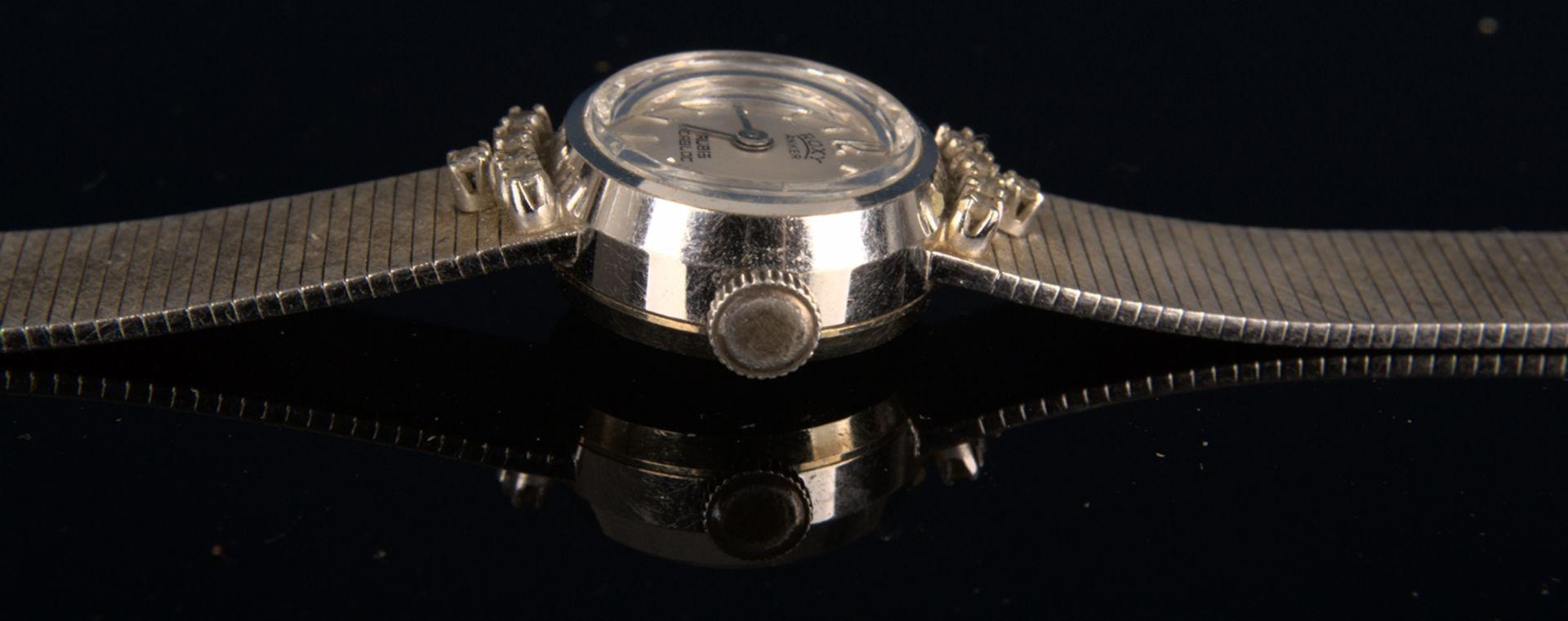 "Elegante COCKTAIL - Damenarmbanduhr der Marke ""ANKER - ROXY"" - 17 Rubis - Incabloc. Handaufzug, - Bild 10 aus 11"