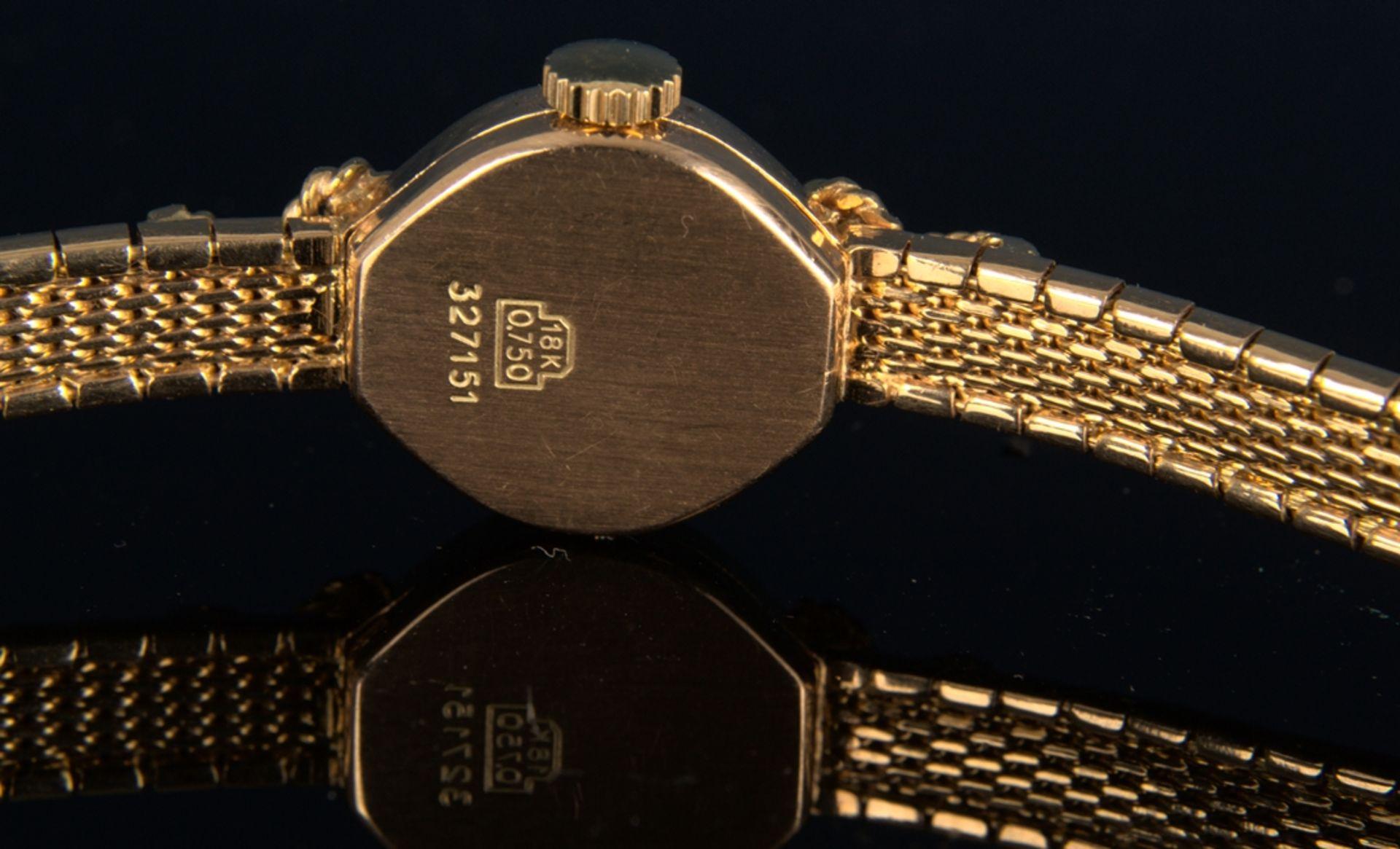 """Schmuckvolle, filigrane """"IPOSA"""" - Damenarmbanduhr, ungeprüftes mechanisches Uhrwerk mit 17 - Bild 5 aus 6"""