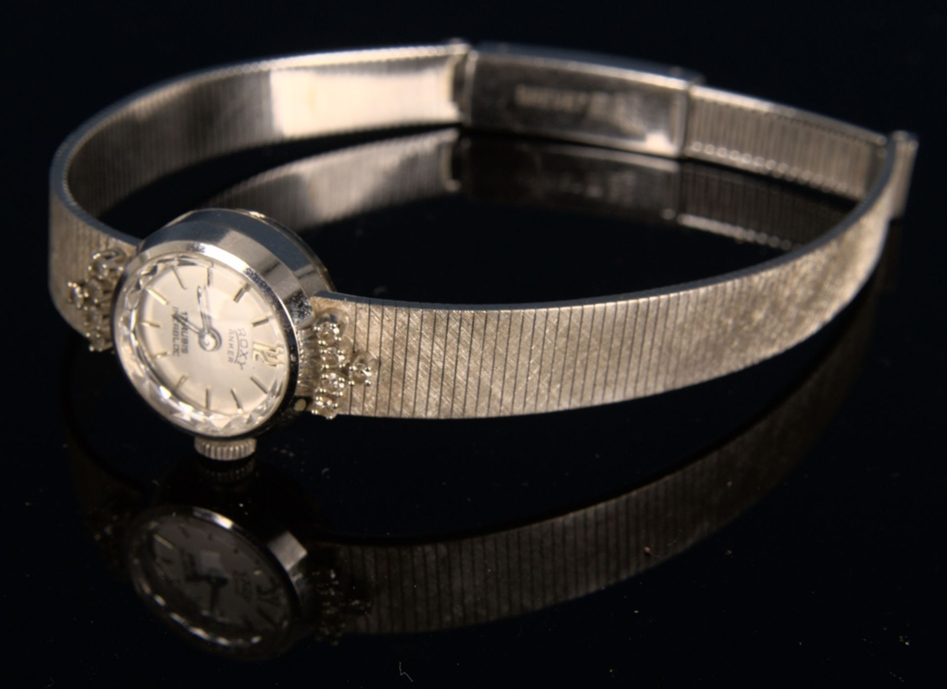 "Elegante COCKTAIL - Damenarmbanduhr der Marke ""ANKER - ROXY"" - 17 Rubis - Incabloc. Handaufzug, - Bild 9 aus 11"