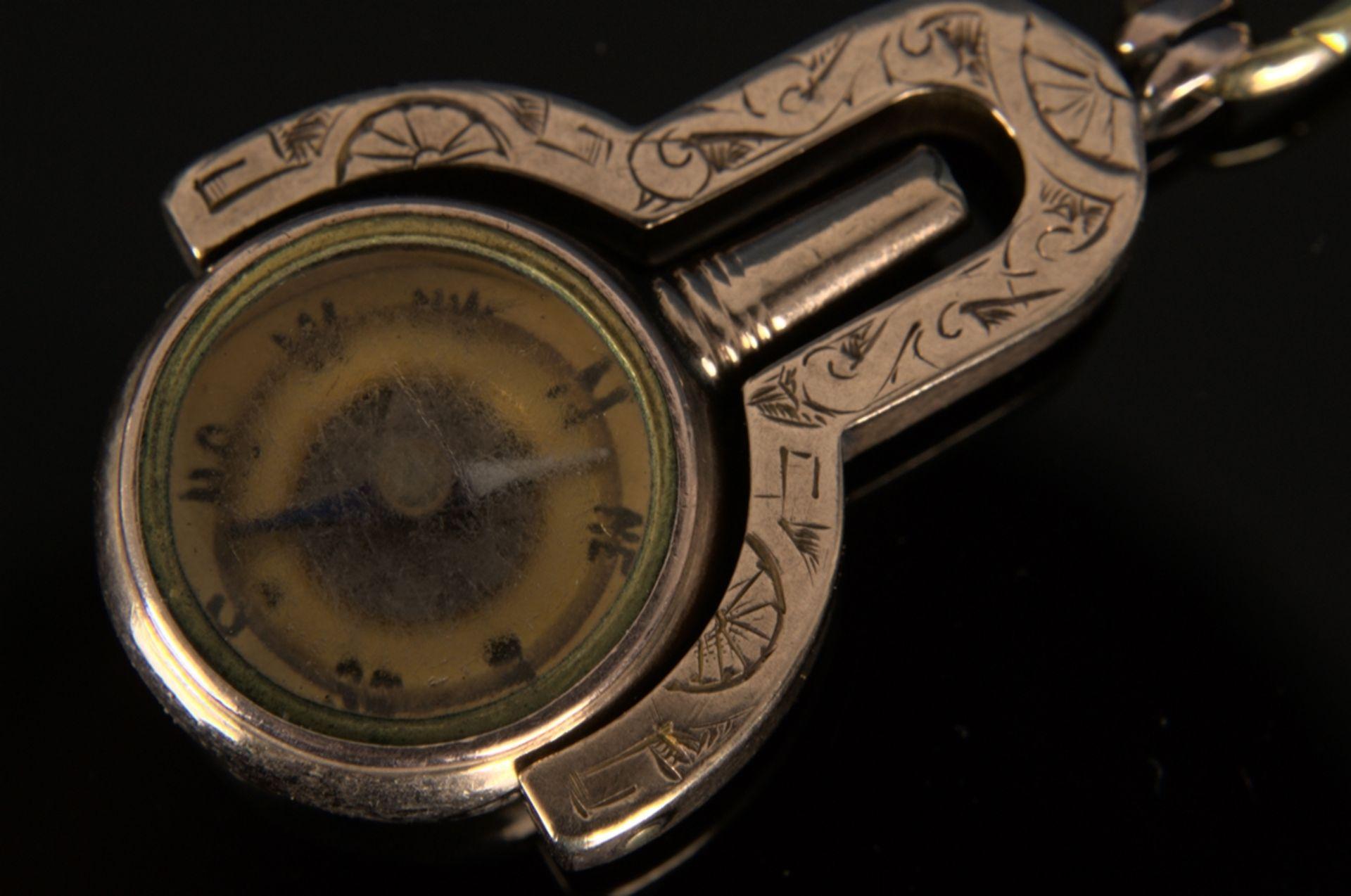 9teilige Sammlung versch. Taschenuhrenschlüssel, überwiegend 19. Jhd. Versch. Alter, Größen, - Bild 16 aus 18