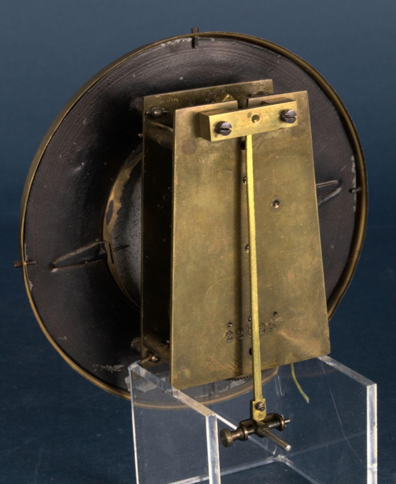 Wandregulator, eingewichtige, mechanische Wanduhr im Nussbaumgehäuse. Werk ungeprüft. Höhe ca. 95 - Bild 10 aus 19