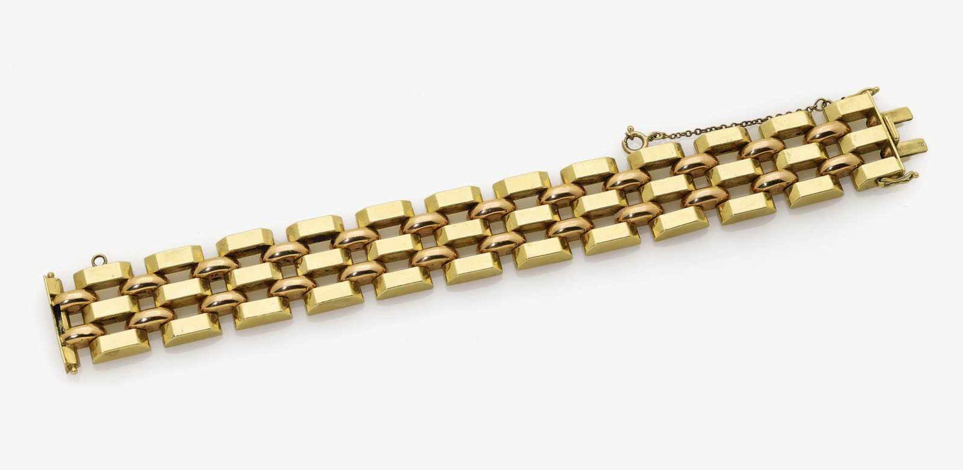 Los 1048 - A Gold-Link Bracelet