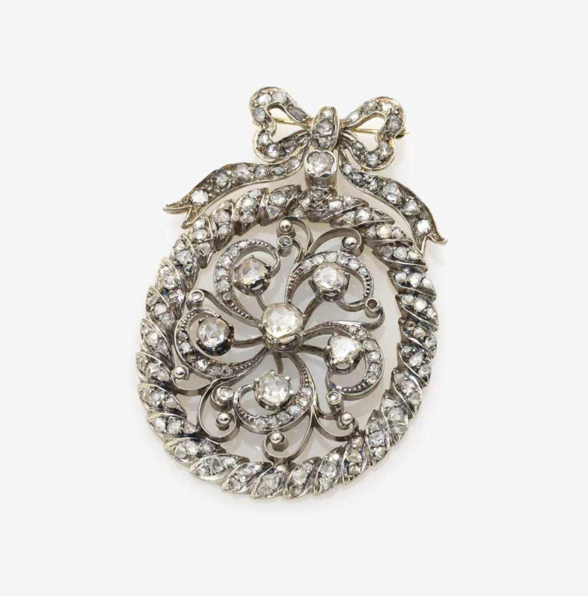 Los 1006 - A Diamond Brooch