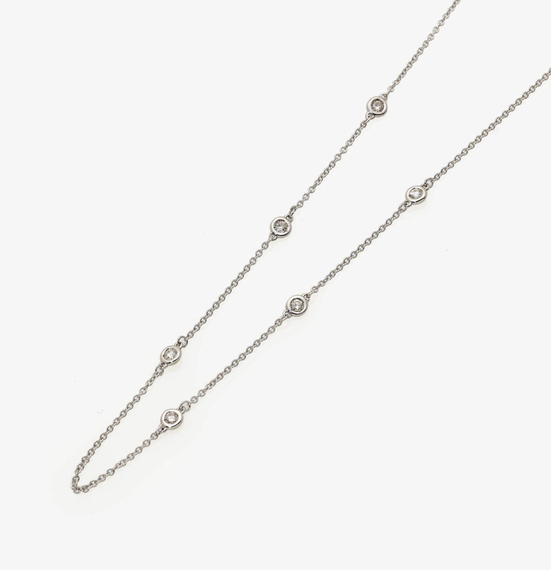Los 1016 - A Diamond Necklace