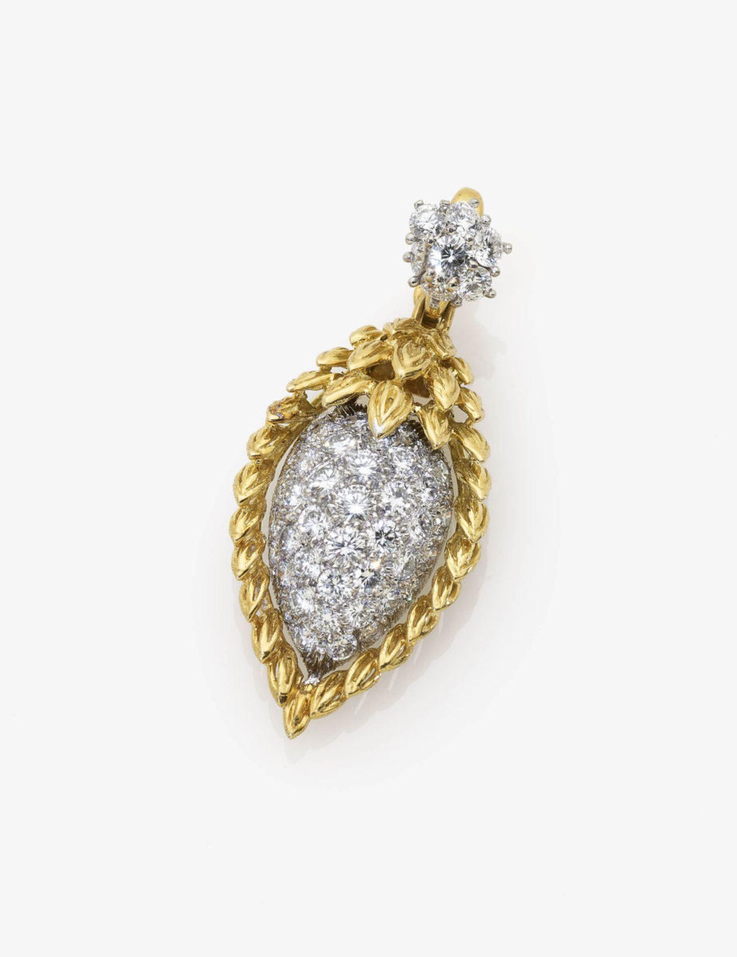 Los 1047 - A Diamond Pendant