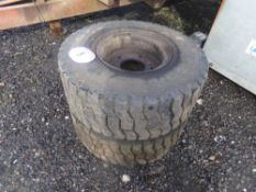 PAIR OF GRAHAM EDWARDS WHEELS (NO VAT)