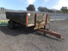 2 WHEELED TIPPING TRAILER (NO VAT)
