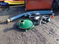 SLURRY PIPES AND FITTINGS (NO VAT)