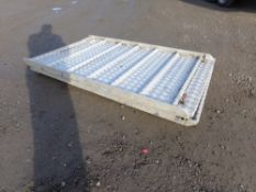 ALUMINIUM LORRY RAMPS (NO VAT)