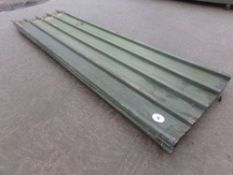 36 X GREEN TIN 12FT SHEETS