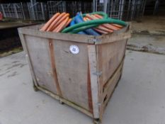 BOX OF SUCTION HOSES