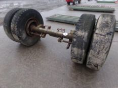 HGV AXLE AND TYRES