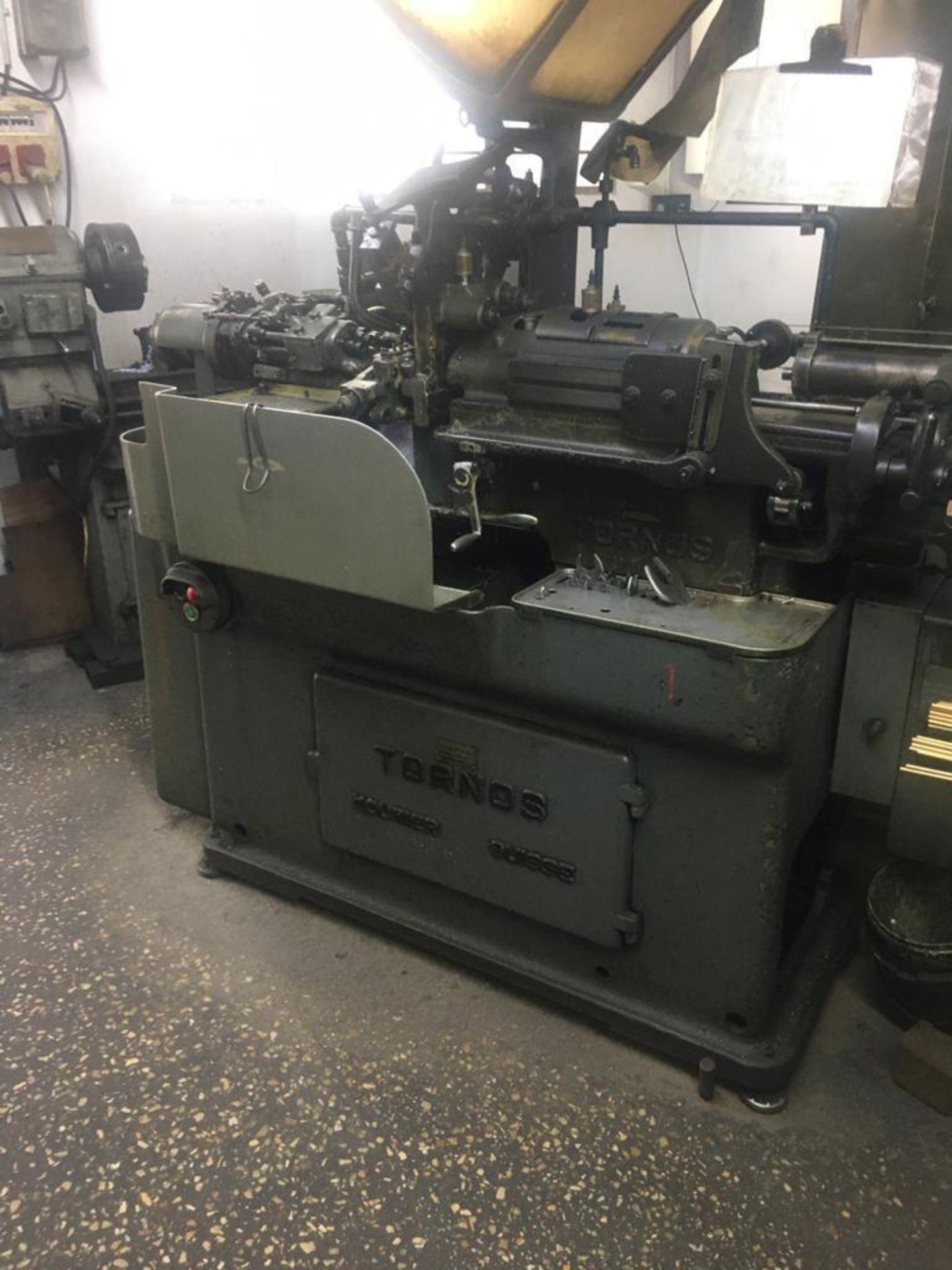 Lot 65 - TORNOS SAUTER SWISS TYPE SCREW MACHINE; MODEL RR20