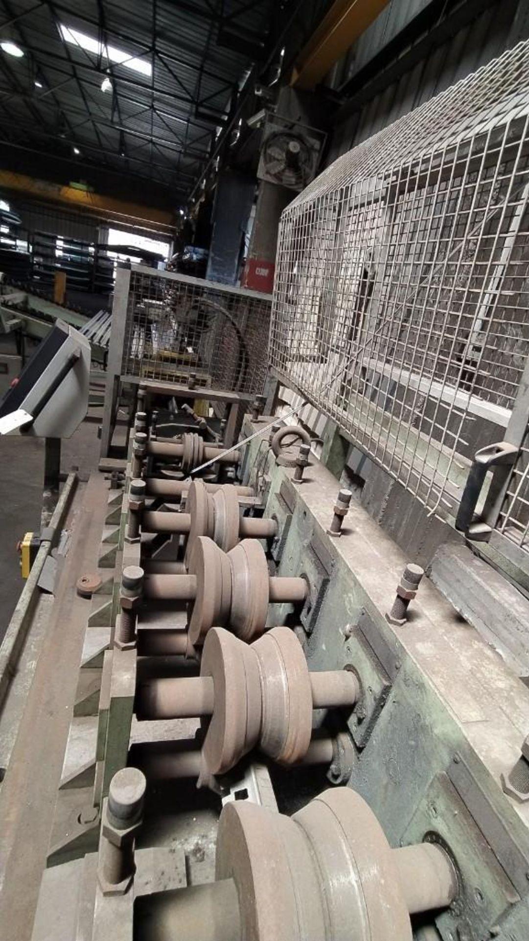 Lot 19 - DALLAN COMBI METAL CORNER ROLL FORMER AND PUNCHING MACHINE; MODEL B4R-18-200