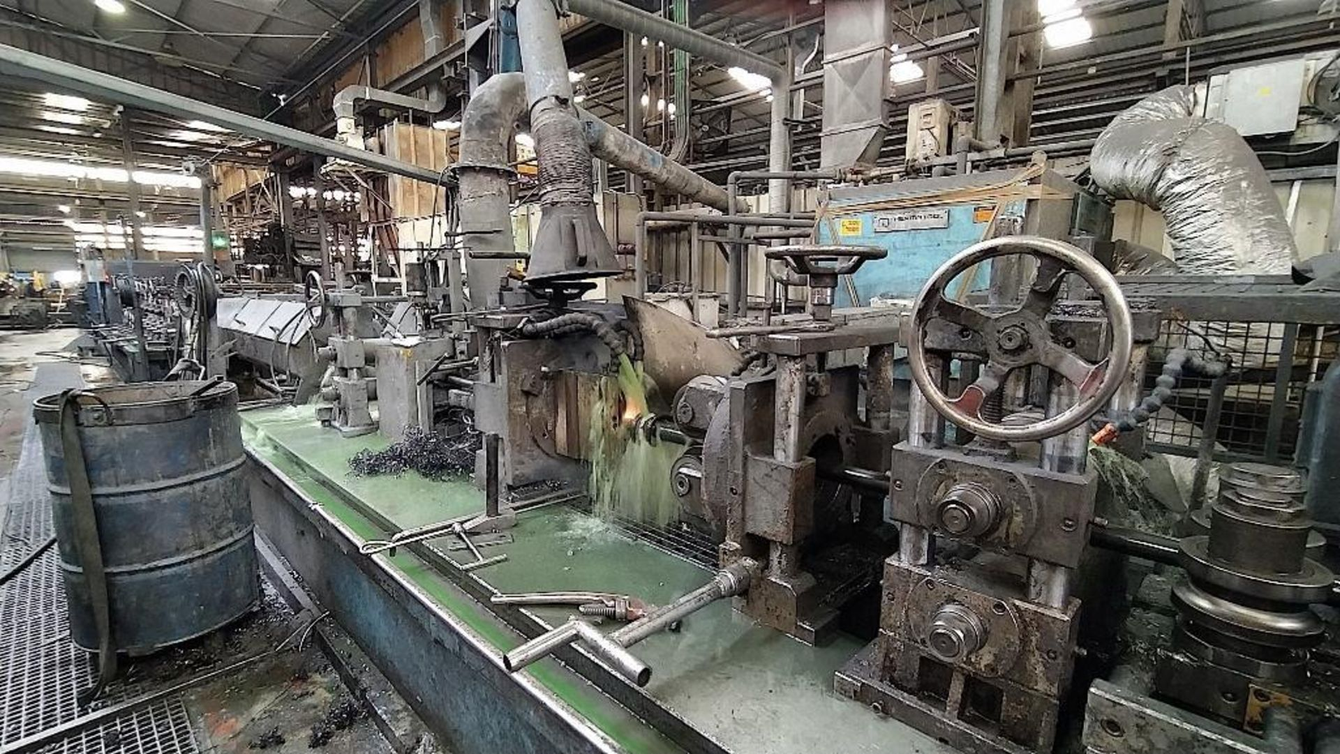 Lot 12 - ELMAKSAN TUBE MILL, MODEL ELBM 280