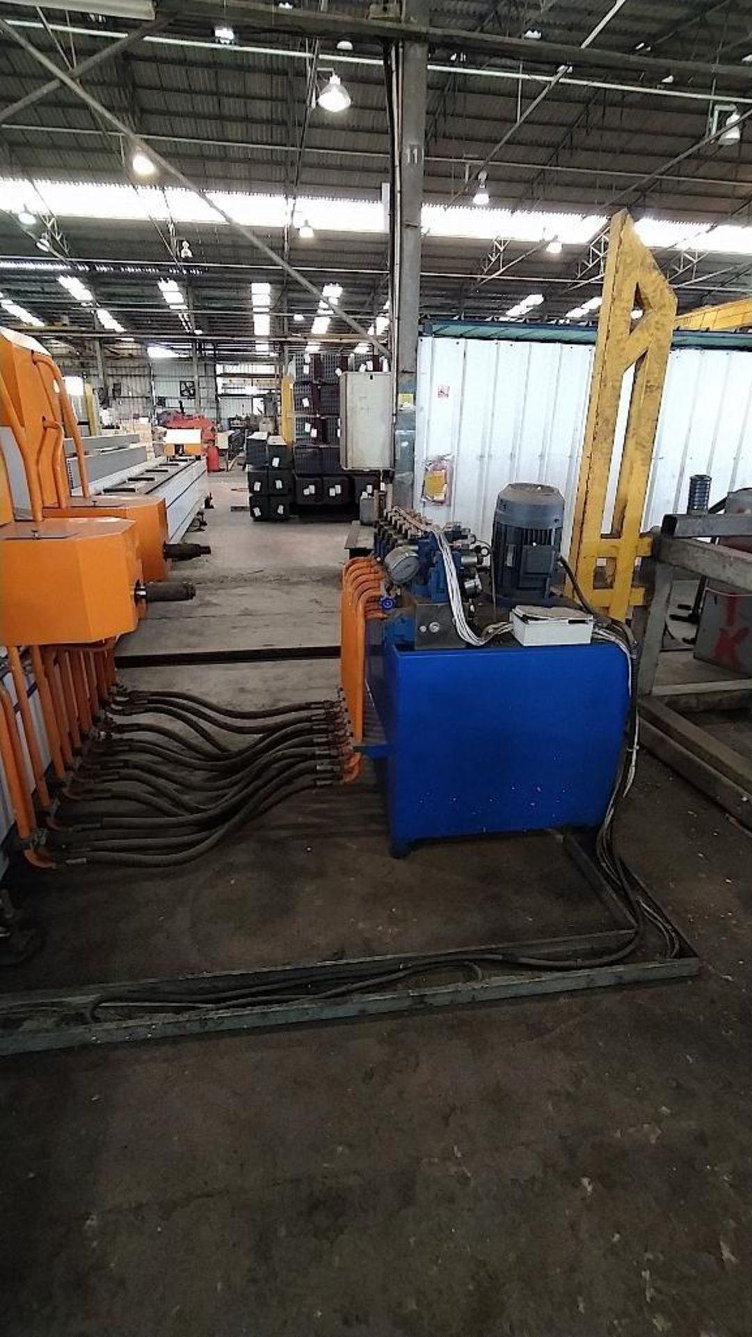 Lot 13 - SHADONG JINBOLIDA PRECISION MACHINERY PUNCHING LINE