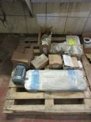 (LOT) EXTRUDER SPARE PARTS- CONTENTS OF PALLETS
