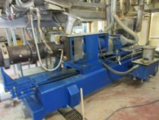 CLEXTRAL TWIN SCREW EXTRUDER, MODEL BC82