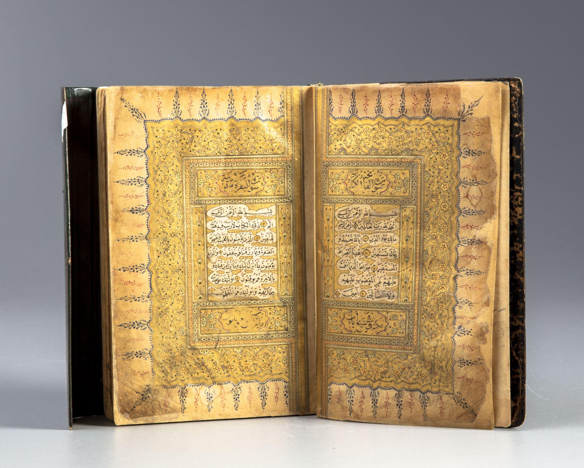 An Ottoman gilt decorated Quran