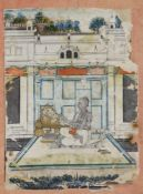 AN INDIAN PRIEST, NATHDAWARA SCHOOL, 19TH CENTURY