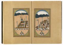 DALA'IL AL-KHAYRAT BY OSMAN HILMI STUDENT OF MUHAMMED ANWAR EFENDI, TURKEY, 1295 AH/1878 AD