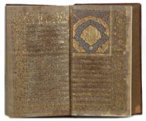 ROWDAT Al-ATHKAR BY HAJJI MUHAMMAD BEN MUHAMMAD TABRIZI, IRAN, 18TH-EARLY 19TH CENTURY