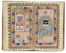 AL-JAZULI, DALA'IL AL-KHAYRAT WA SHAWARIQ AL-ANWAR, INCLUDING OTHER PRAYERS, WITH TWO DIAGRAMS OF TH