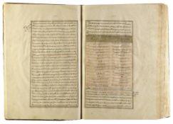 ZAYN AL-DIN JURJANI (D.1136 AD), ZAKHIRAH-I KHWARAZMSHAHI ('TREASURY DEDICATED TO THE KING OF KHWARA