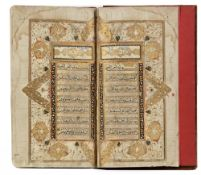 AN ILLUMINATED QURAN COPIED BY MULLA MUHAMMAD INDIA, 18TH CENTURY