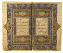 A TIMURID QURAN SIGNED NOUR AL-DIN MUHAMMAD BIN MUHIEYH AL-HERAWI, DATED 961 AH/1553 AD