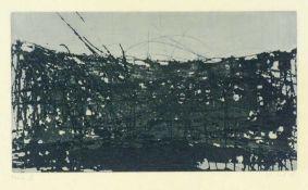 Göschel, Eberhard(geb. 1943 Bubenreuth, lebt in Dresden)Ohne TitelFarbradierung, 1988, 282x488,