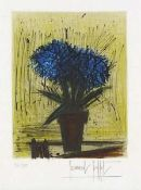 Buffet, Bernard(1928 Paris - 1999 Tourtour/Provence-Alpes-Cote d Azur)L'HortensiaFarblithographie