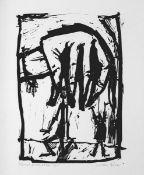 Dirx, Willi(Recklinghausen 1917 - 2002 Wuppertal)ManipulationLithographie, o. J., vermutlich