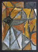 Böttcher, Manfred(Oberdorla/Thür. 1933 - 2001 Berlin)KompositionÖlfarben auf Hartfaser, 1980er