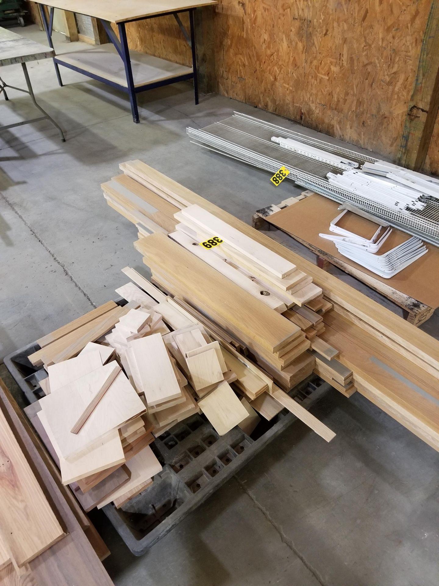 Lot 389 - Lot of Various hardwood