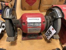 "Daytona 7500 8"" bench grinder 3/4 hp, single phase"