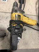 "Dewalt DW130 1/2"" reversing drill cored"