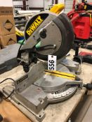 "Dewalt DW705 12"" Compound Miter Saw, chop saw"