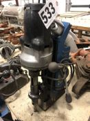 Hougen HMD914 portable magnetic drill press mag drill