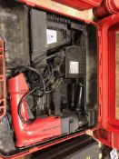 Hilti TE10A 36 volt Rotary Hammer drill in case w/36 v battery & charger