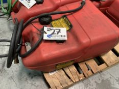 Tempo 6.5 gallon gas caddy