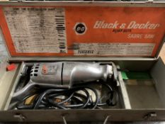 Black & Decker Heavy Duty Sabre Saw