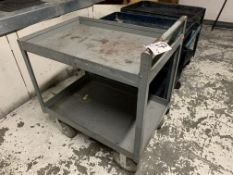 2' X 3' Steel Shop Cart