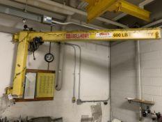 Abell-Howe 600 Lb. Capacity Jib Crane 8'