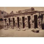 "19th Century English School. An Egyptian Tomb, Photograph, 10"" x 14.25"" (25.4 x 36.2cm) and three"