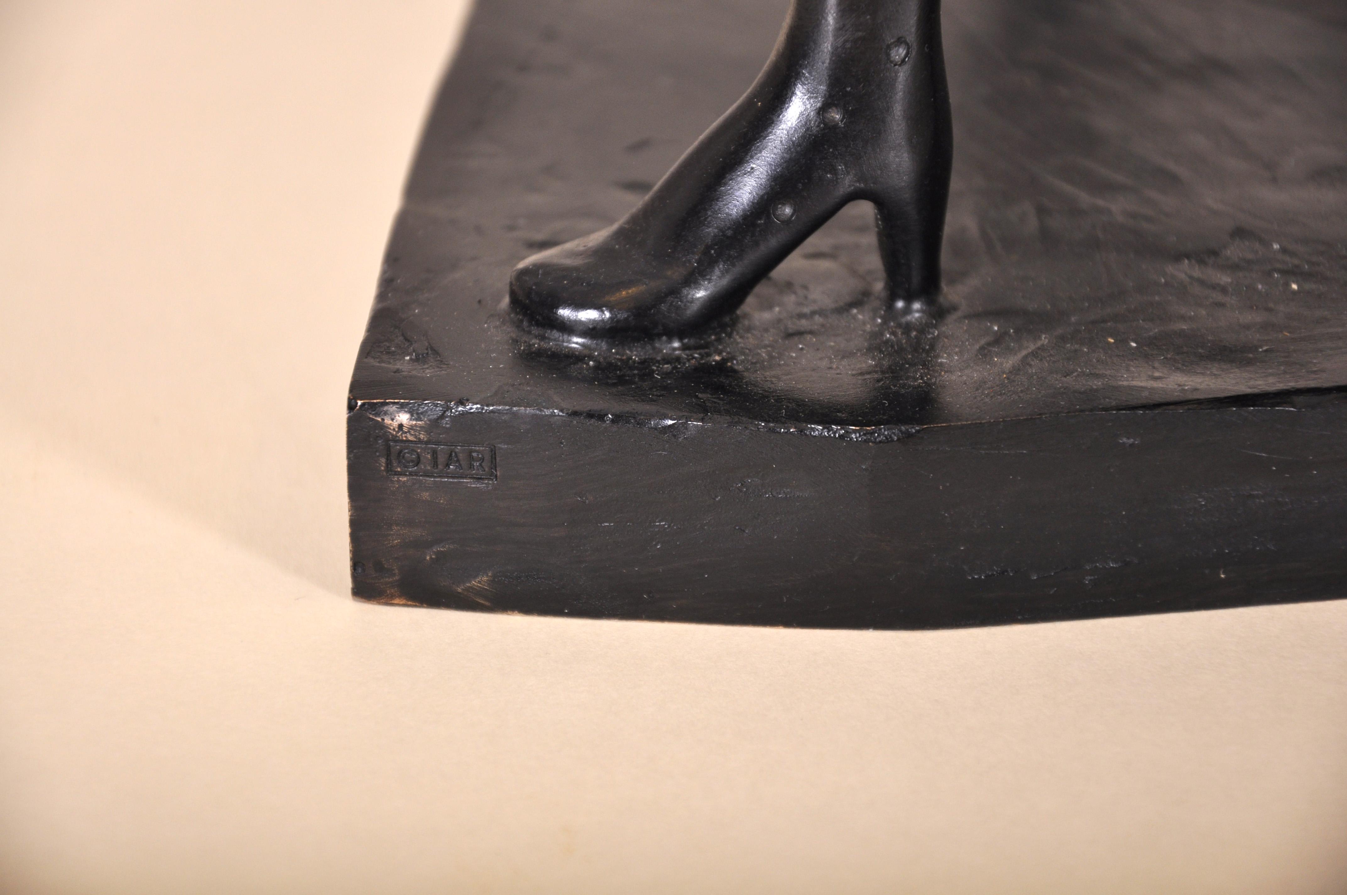 "Salvador Dali (1904-1989) Spanish. ""Surrealist Piano"", Sculpture-Volume, Bronze with Black Patina - Image 5 of 5"