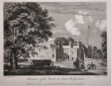 "Paul Sandby (1731-1809) British. ""Remains of the Tower at Luton, Bedfordshire"", from the book '"